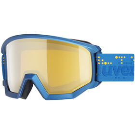 UVEX Athletic FM Goggles underwater mat/mirror gold